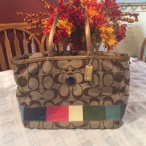 🆕 COACH Tote/Diaper Bag